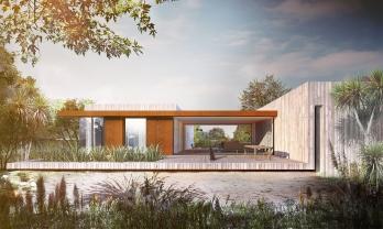 Habitech SIP House. Grand Designs NZ episode 8. Alessandro Quadrelli Architetto. Registered Architect NZ.